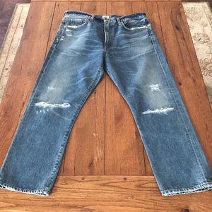 NWT COH DREE HIGH RISE CROPPED JEANS 31 $260
